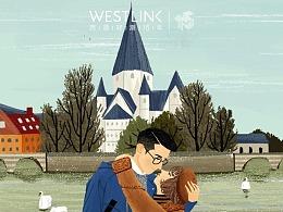 WESTLINK商业合作插画(8图)