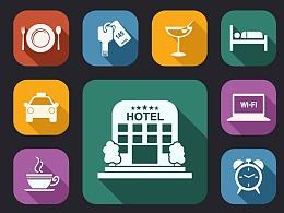 UI 酒店元素图标