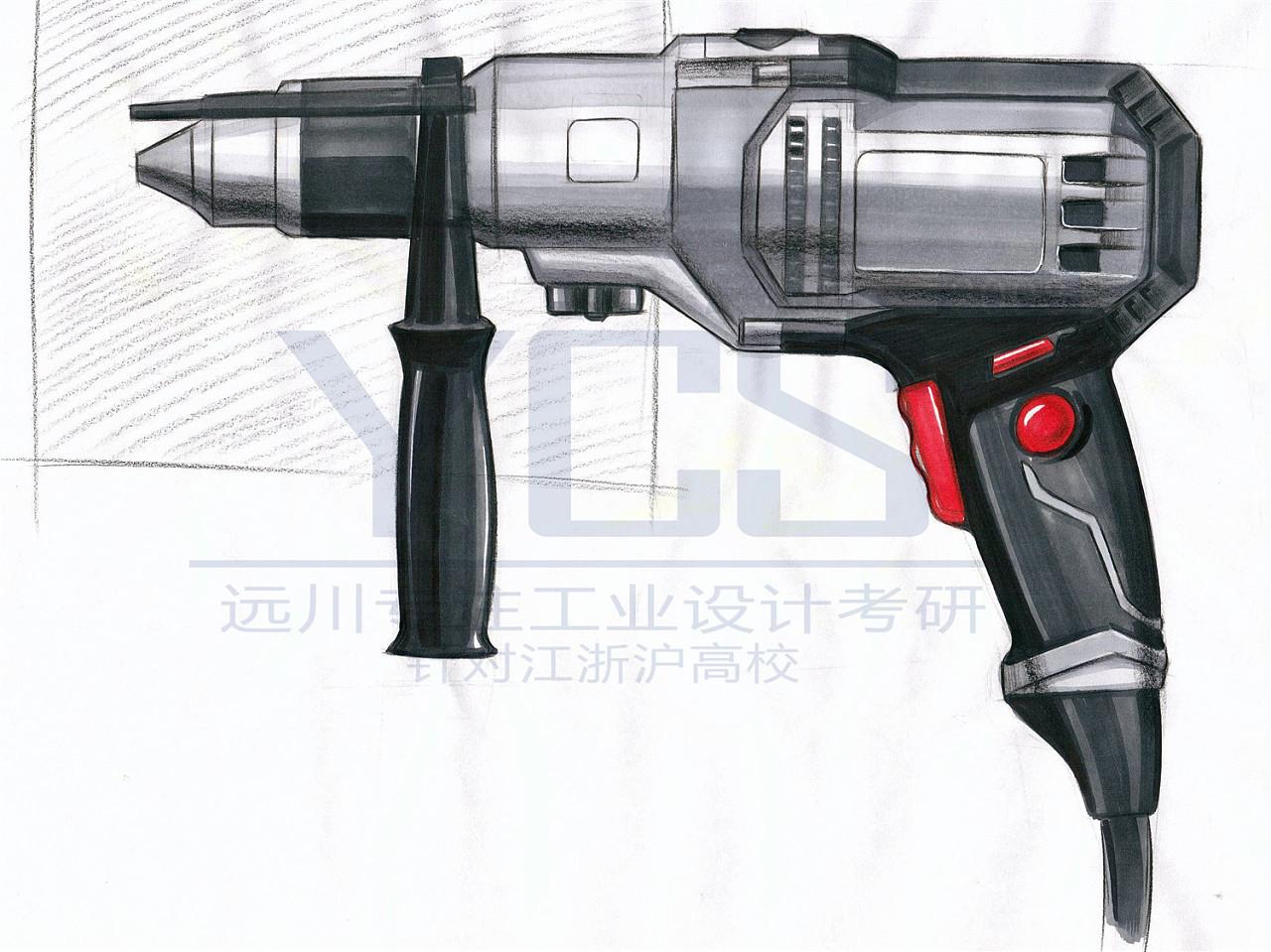 ycs远川工业设计手绘学员课程练习