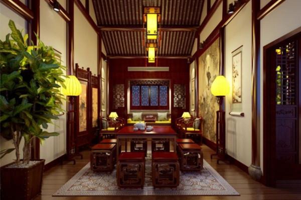 成都中式茶楼设计公司装修公司