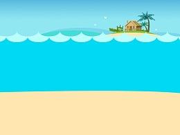 美美的海滩
