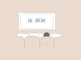 HI,普通的老妈