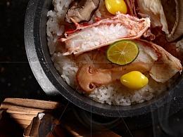 蟹肉怀石饭