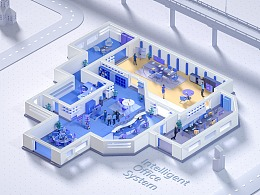 智慧办公系统 | Intelligent Office System
