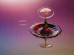 飞舞的水滴