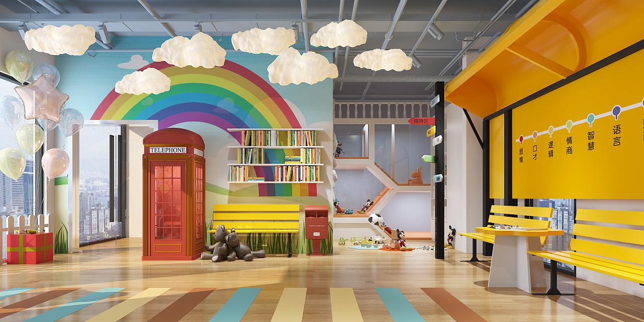 幼儿园教室_室内空间设计