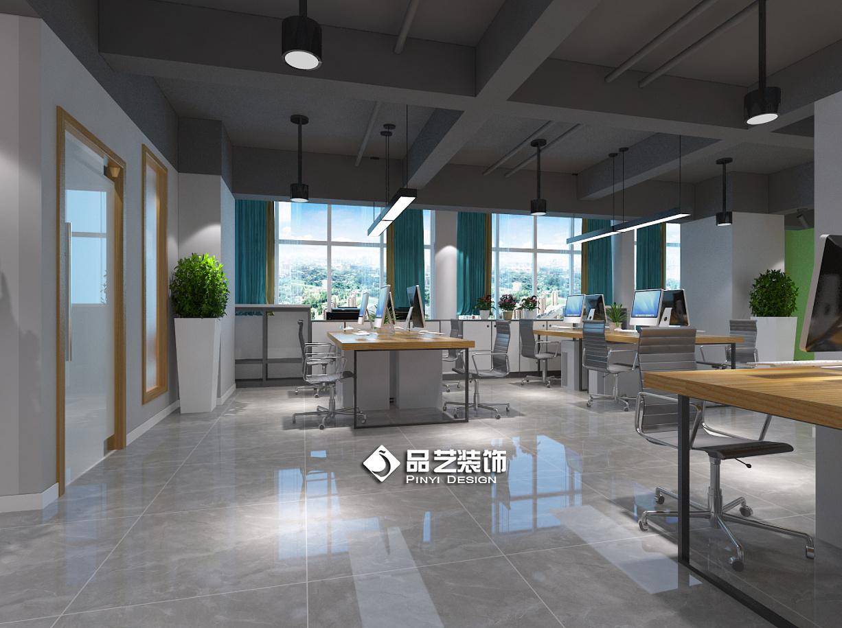 现空间业风办公室创客中心装修设计|家具|室内设计|品在应聘代工设计师应注意什么图片