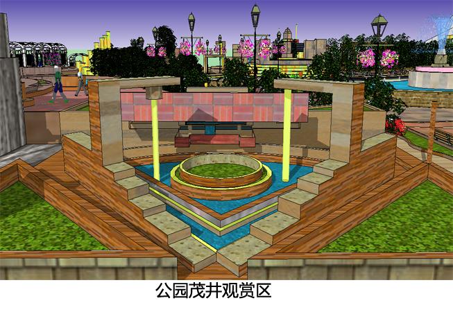 滨水公园景观设计—m鸣雨迦思休闲滨水公园