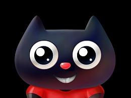 嘻动猫健身猫 吉祥物表情包制作卡通ip品牌形象设计