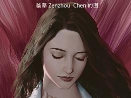 临摹Zhezhou Chen的图