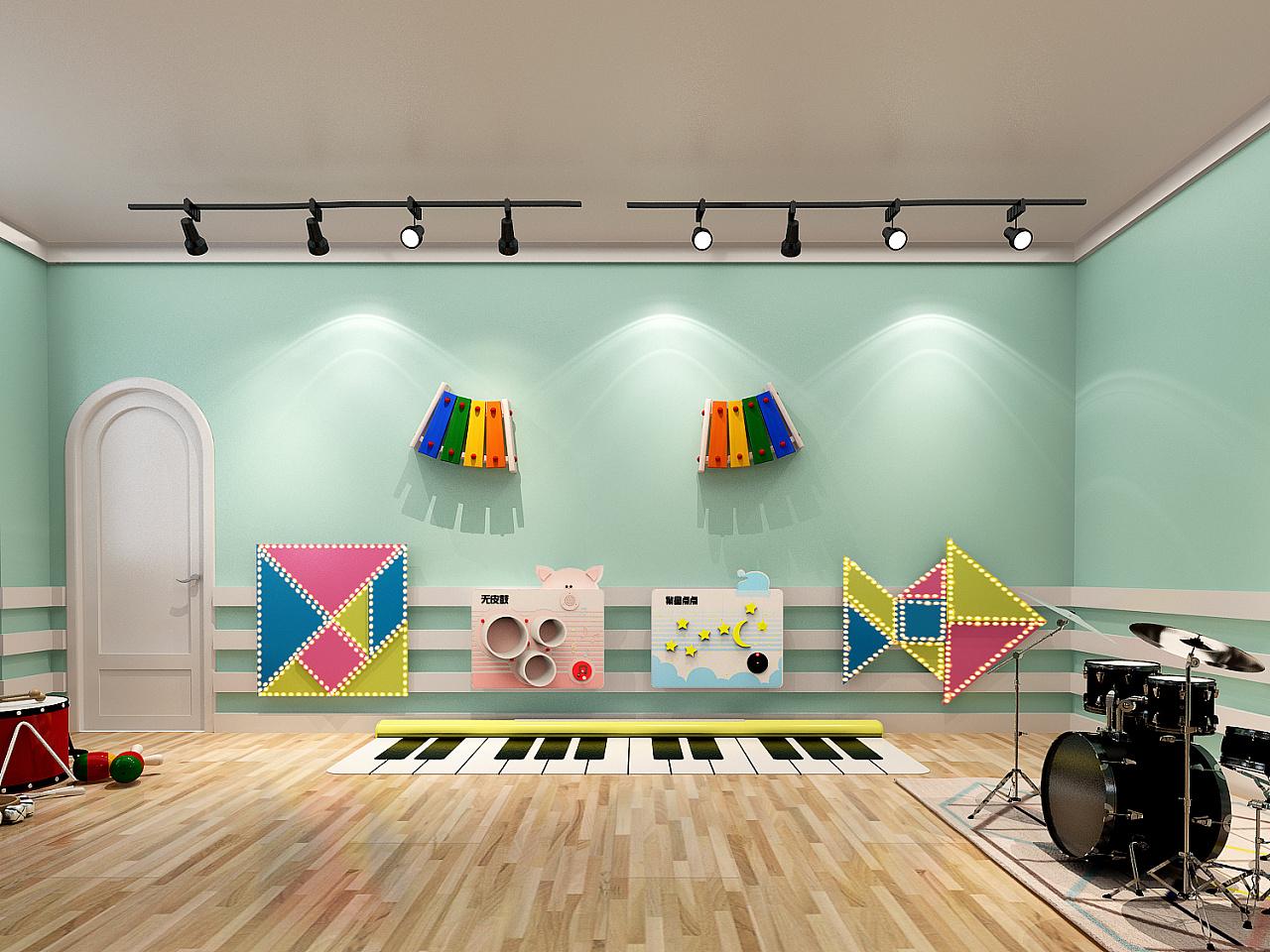 幼儿园空间设计图片