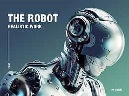 Super realistic design Robot 3000Layers