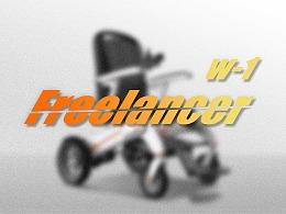 哈士奇设计作品 - 电动轮椅