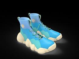 海南文创 旅行鞋子设计