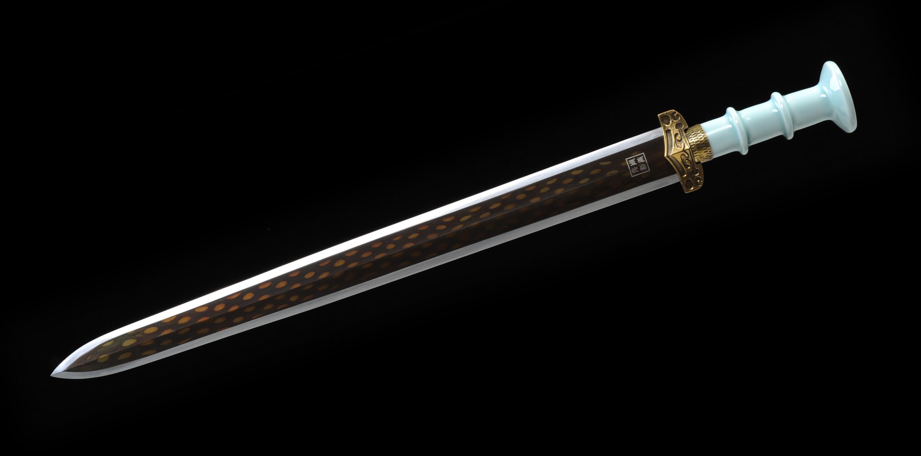 剑_刀剑-珍珠纹瓷柄剑