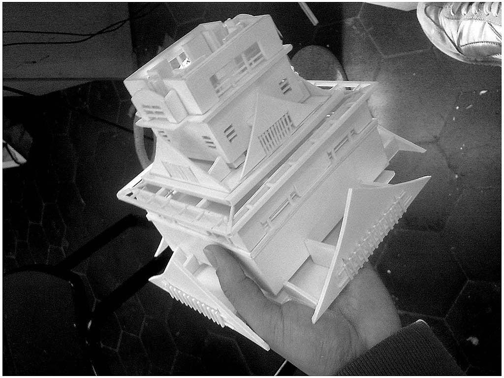 手工pvc模型制作- 日本熊本城