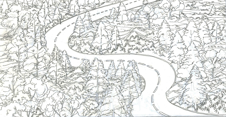 简笔画 手绘 线稿 3000_1549