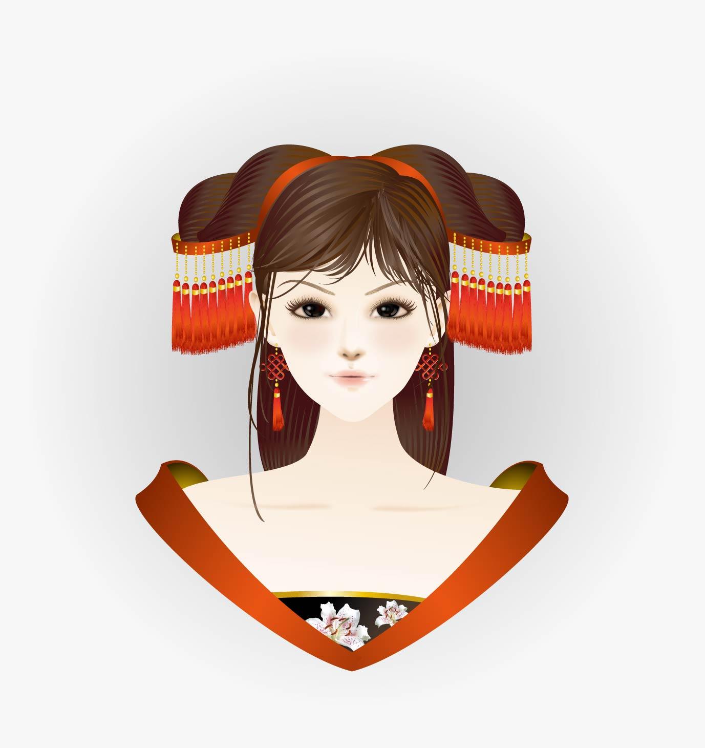 ai手绘美女插画|插画|涂鸦/潮流|hualei - 原创作品