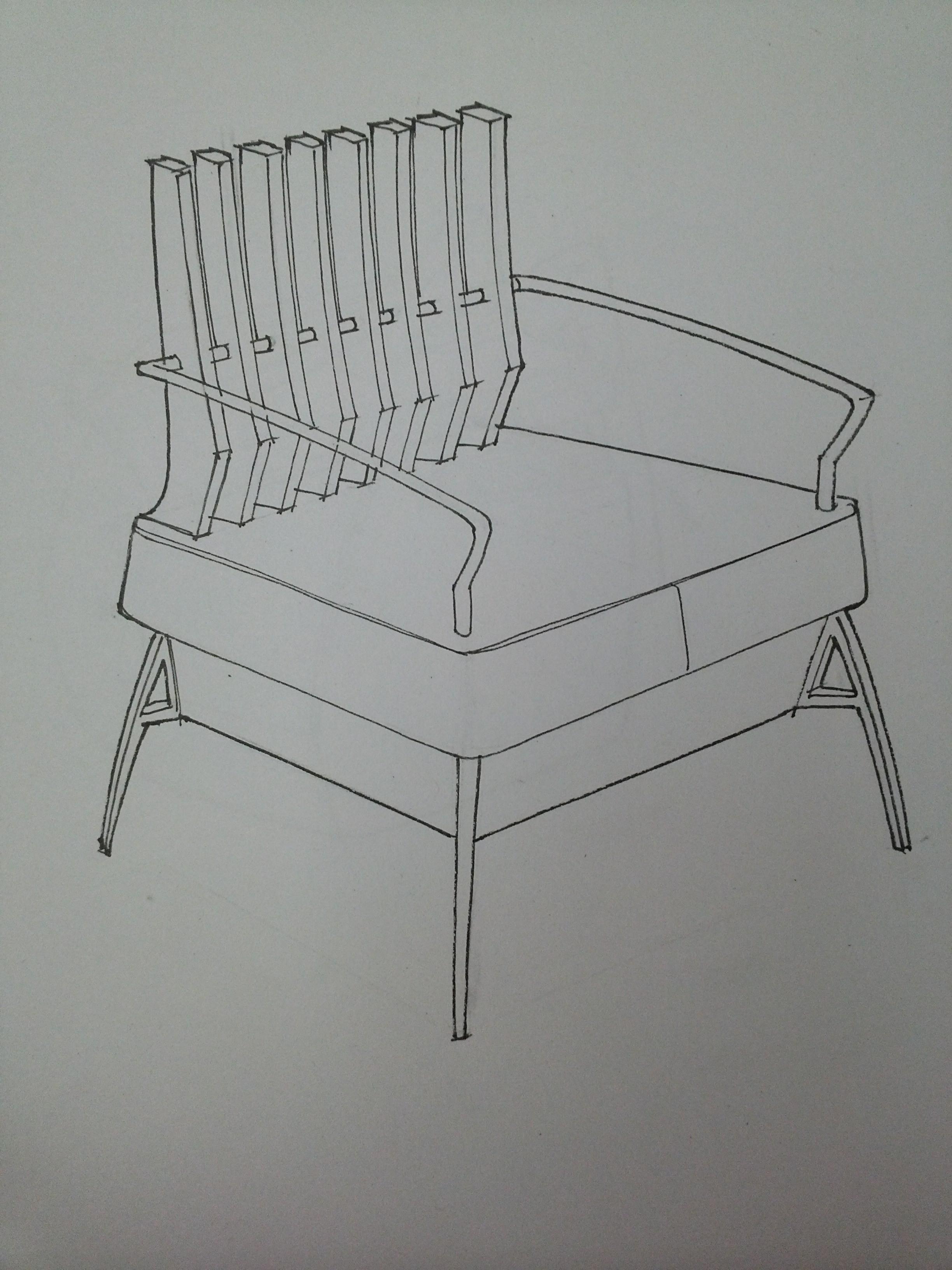 纯手绘家具设计