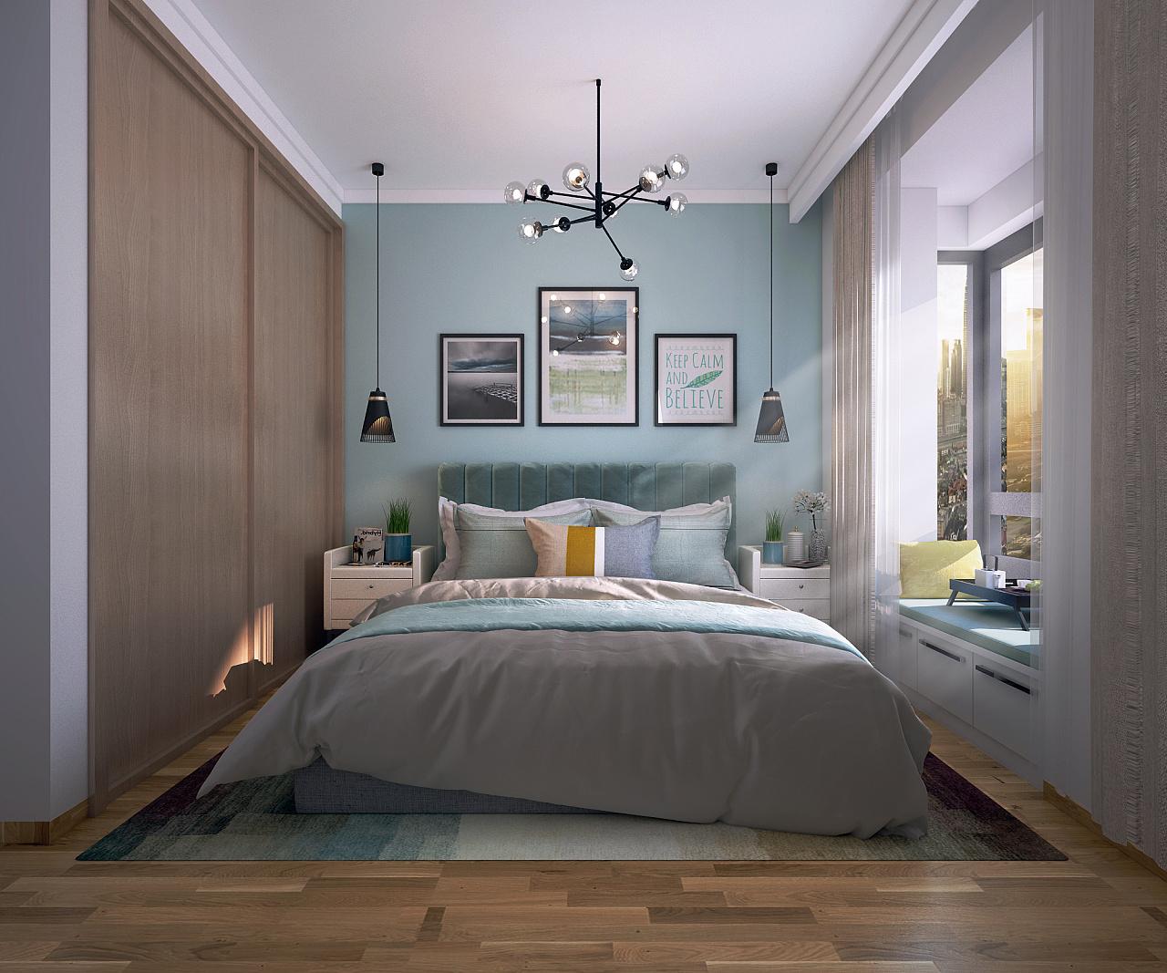 云南海伦空间北欧效果图 先生 室内设计 沐沐丶最新鞋柜装修设计图图片