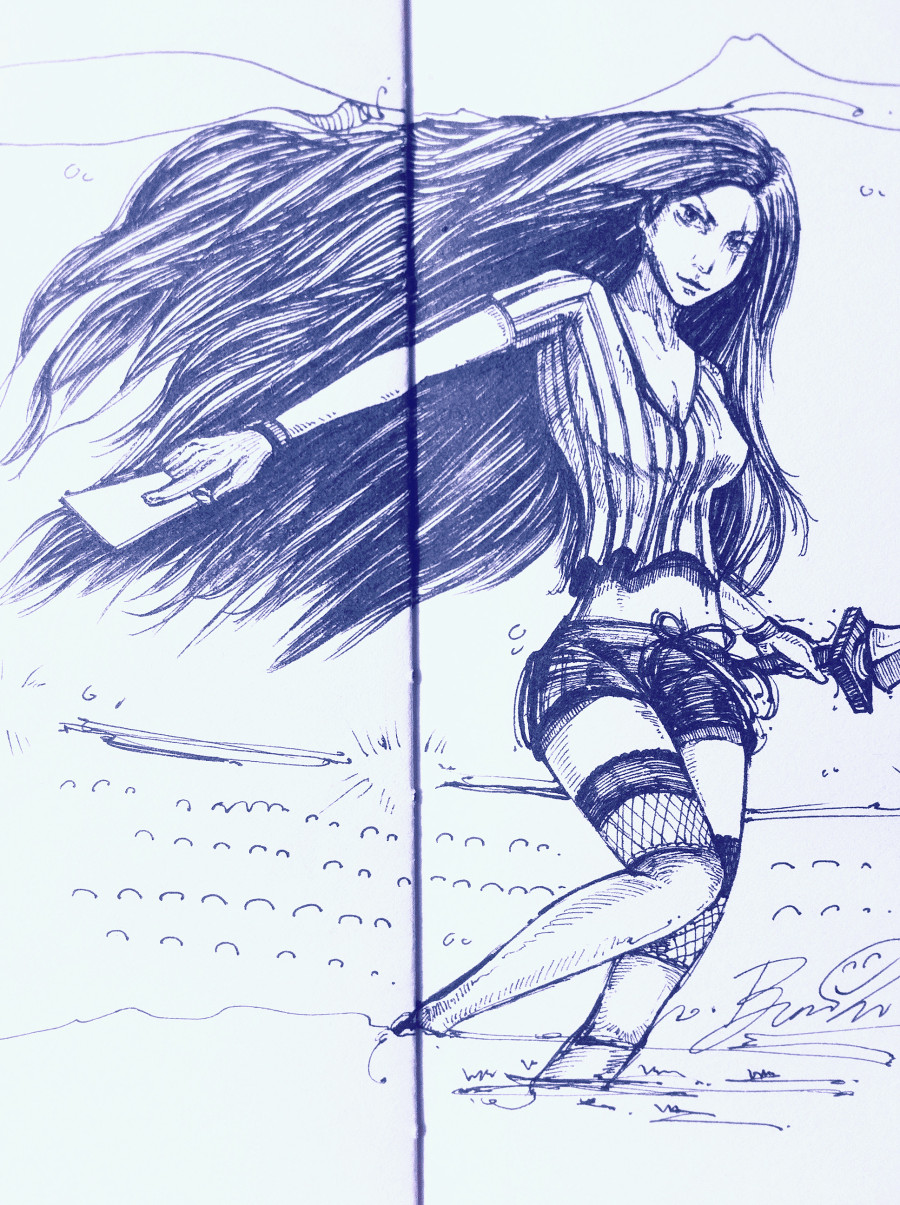 不祥之刃 卡特琳娜|绘画习作|插画|煎熊 - 原创设
