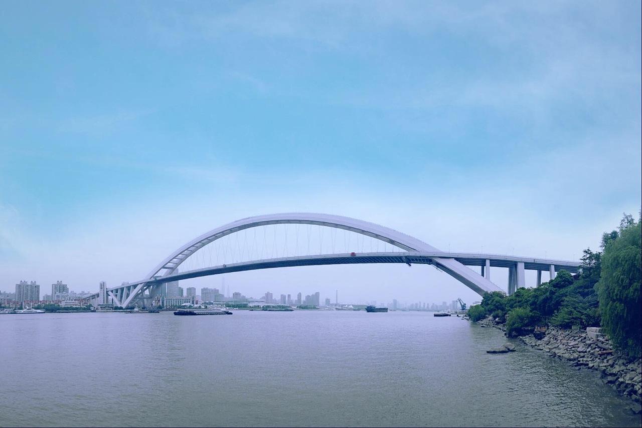 上海后滩公园 卢浦大桥