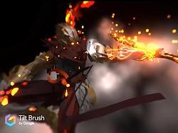 VR入手 TiltBrush初体验之大圣白龙