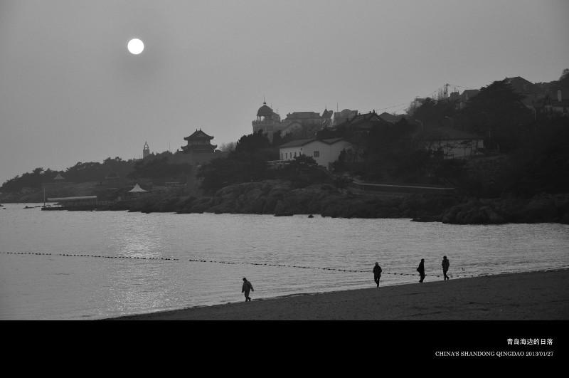 《青岛这座城-黑白》