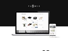最新网页设计 web页面设计 家具网站设计 商城页面设计