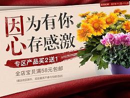 2018.11.25感恩节bp花卉活动首页