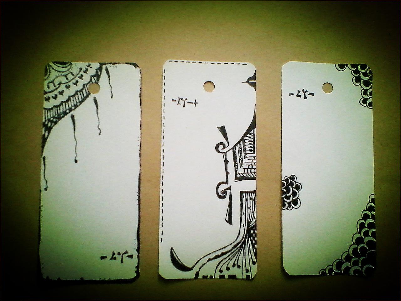 我的 手绘书签系列 之一