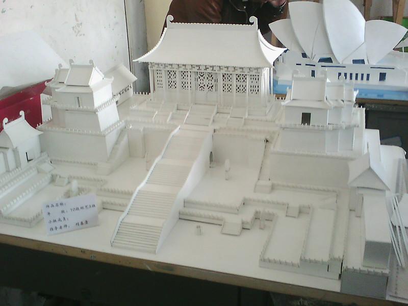 建筑手工模型