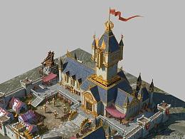 单体设计:中世纪兵营