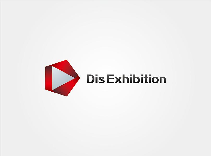 dis exhibition logo design(scam ad) 平面 标志 吾图片