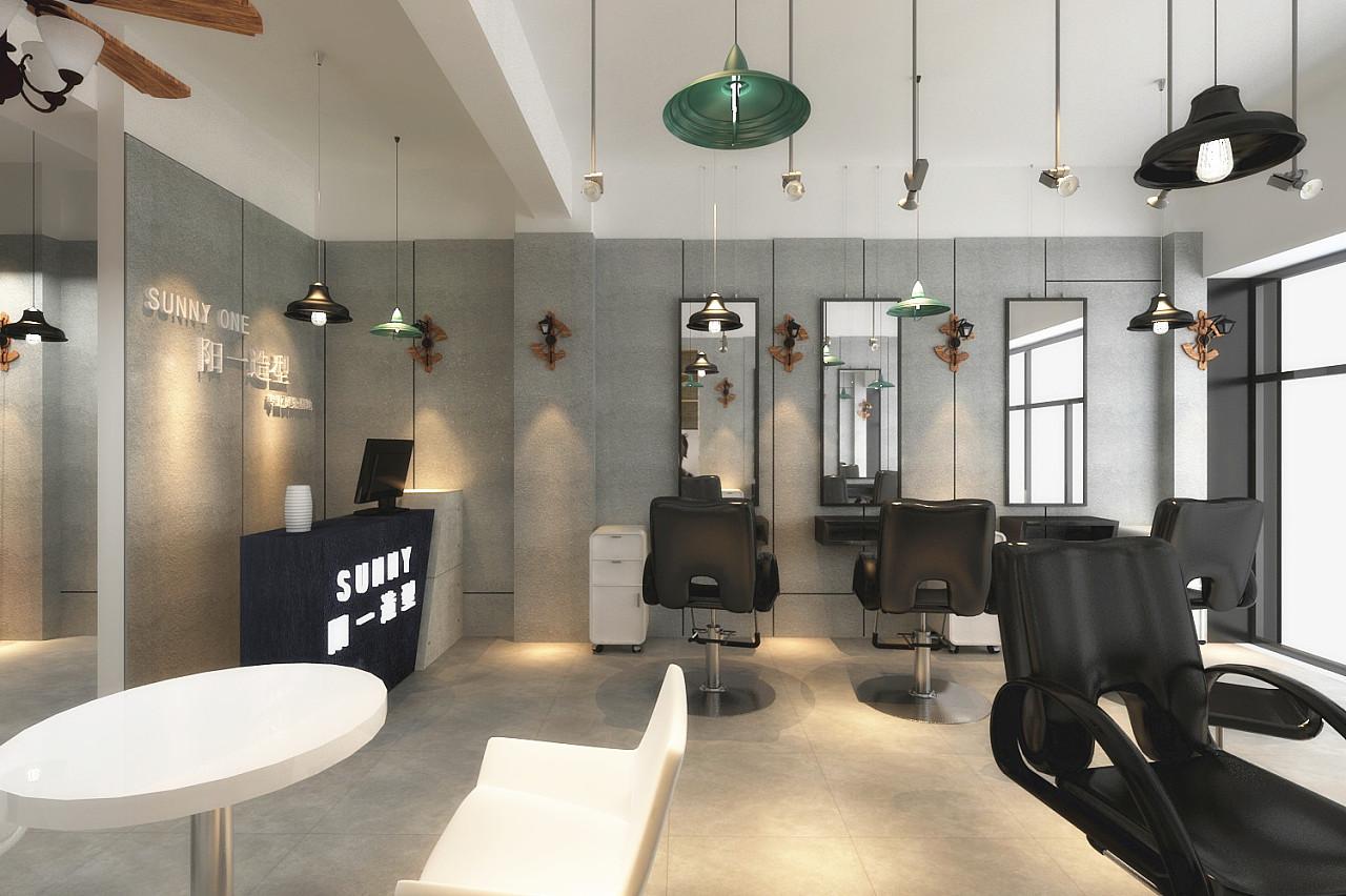 阳一造型-成都理发店装修|成都美发店设计图片