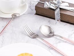 不锈钢葡萄牙餐具详情页