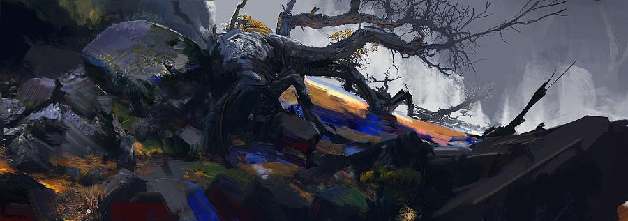 查看《大家好,我是守夜人,迟来的年度绘画总结,祝大家新年快乐!》原图,原图尺寸:2500x881