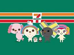 7-11便利店品牌吉祥物IP角色整理分享|7-ELEVEN台湾区OPEN小将 open friends