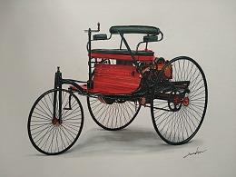 世界第一辆三轮汽车  奔驰1号