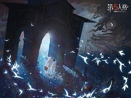 第五人格X约定的梦幻岛(含绘画过程)