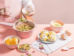 麦饭石不粘锅/辅食锅