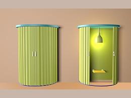 【哺域】-简易哺乳空间设计