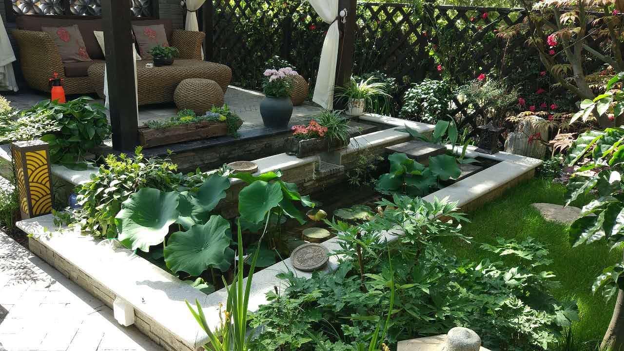 龙湖提醍 庭院花园 空间 景观设计 gaohbwxh - 原创图片