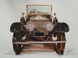 古董车劳斯莱斯(1921)