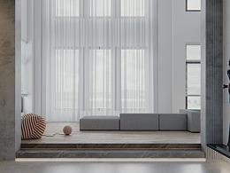 现代别墅·客厅
