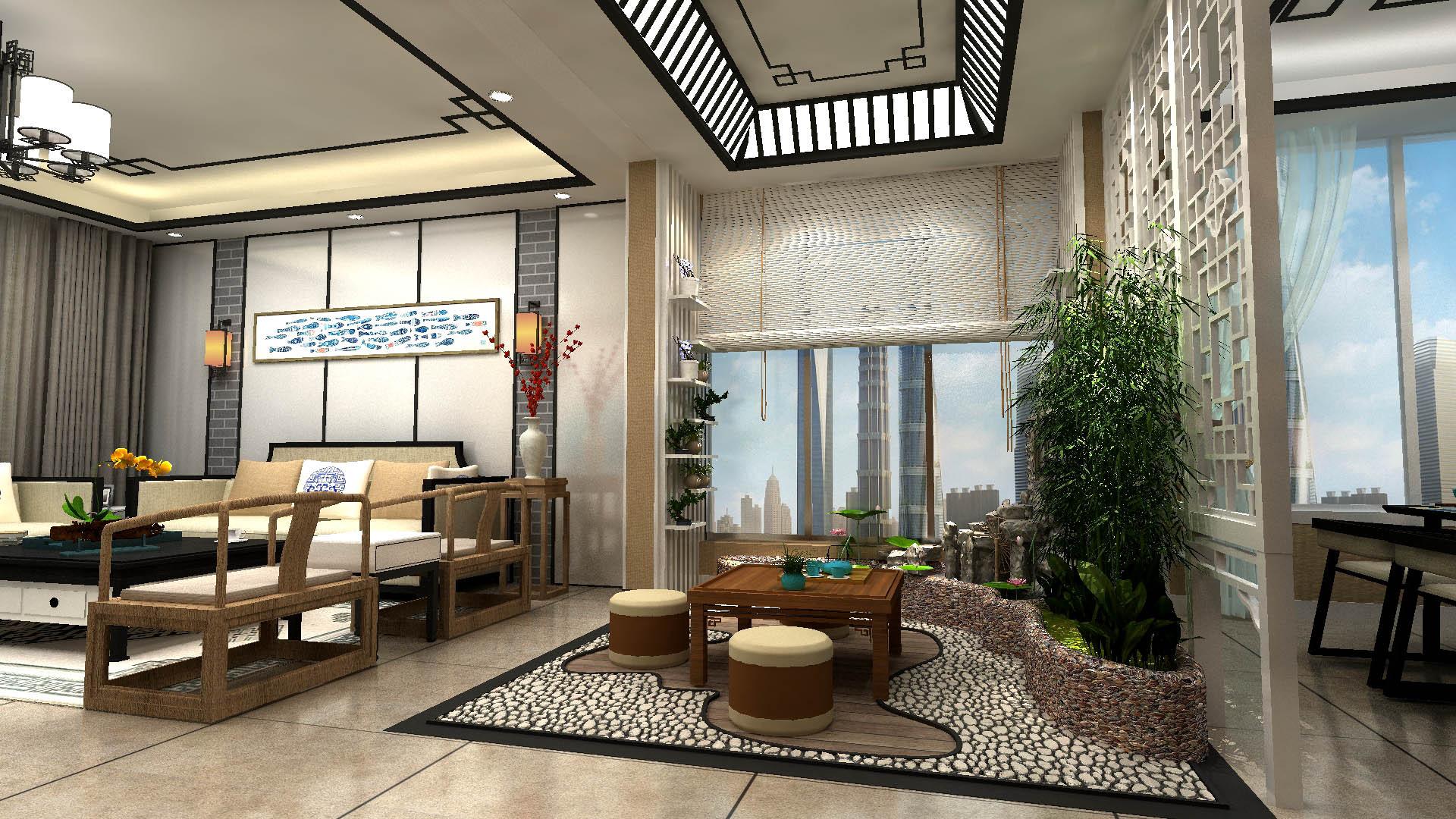 新中式设计|空间|室内设计|escapetomato - 原创作品
