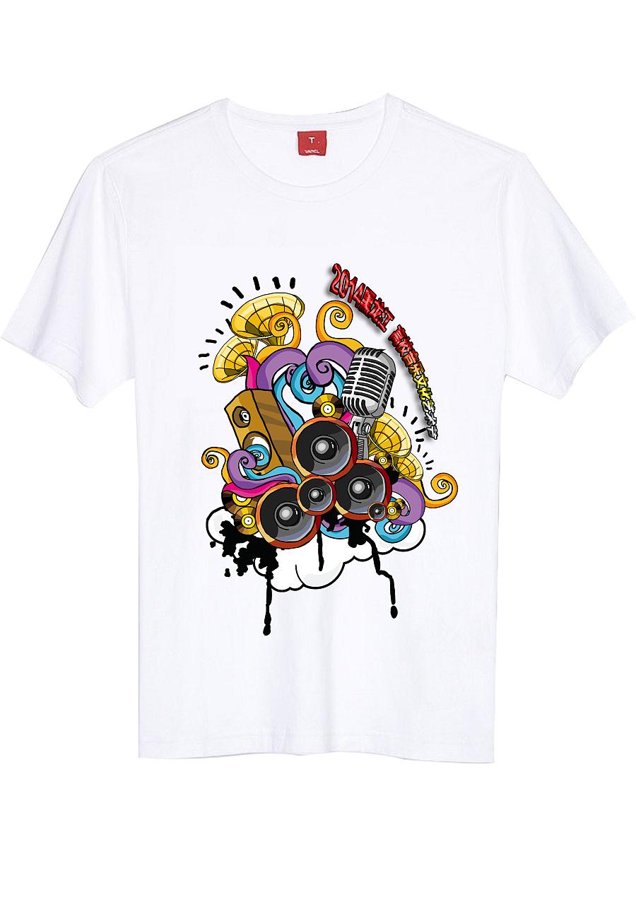 原创手绘t恤|商业插画|插画|刘建超 - 原创设计作品