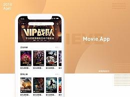 Movie App 界面设计