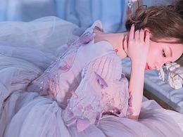 穿这件浪漫紫色衣裙,就是蝴蝶仙女了
