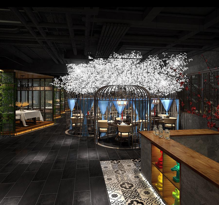 751创意餐厅|室内设计|空间|freemanchoi - 原创设计图片